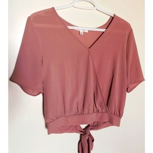 Tops - Dusty rose top